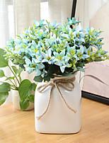 2 Une succursale Plastique Marguerites Fleur de Table Fleurs artificielles