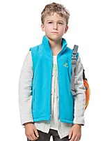 Kid's Hiking Vest Outdoor Winter Keep Warm Fleece Vest/Gilet Full Length Visible Zipper Running/Jogging Camping / Hiking Camping Everyday