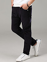 Boys' Solid Pants-Polyester Fall