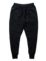 Men's Running Pants Fitness, Running & Yoga Pants / Trousers Running/Jogging Polyester Spandex Cotton Blend Slim Black M L XL