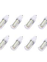 8pcs 2W GU10 LED Corn Lights T 36 leds SMD 5730 White 180lm 6000-6500K AC 110-130V