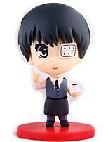 Figures Animé Action Inspiré par Tokyo Ghoul Ken Kaneki PVC 10 CM Jouets modèle Jouets DIY