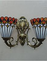 Uplight Wall Sconces 40W AC 220-240V E27 Lantern Bronze For