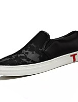 Men's Shoes Tulle Spring Fall Light Soles Loafers & Slip-Ons For Casual Black/Red Gray