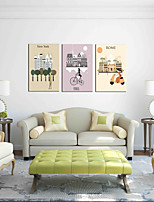The Necessary Fine Shop Wall Art 3-Piece Modern Artwork Wall Art for Room Decoration 20x28inchx3