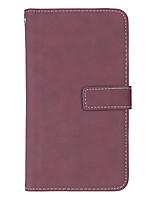 economico -Custodia Per Apple iPhone X iPhone 8 Porta-carte di credito Con supporto Con chiusura magnetica Integrale Tinta unica Resistente pelle