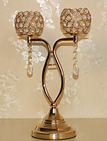One-piece Suit Metal Shell Candelabra Tealight 28*43