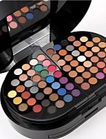 24 Lidschattenpalette Trocken Lidschatten-Palette Puder Alltag Make-up