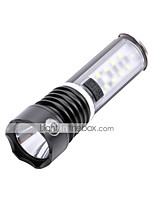 LED Flashlights / Torch 600 lm 3 Mode Cree Q5 for Camping/Hiking/Caving Everyday Use Cycling/Bike Hunting Fishing No Black