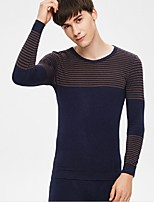 Men's Striped Cotton