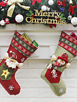 1pc Christmas Decorations Christmas StockingsForHoliday Decorations 23*45*27cm