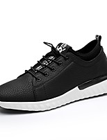 Men's Shoes PU Spring Fall Comfort Sneakers Lace-up For Casual Army Green Black White