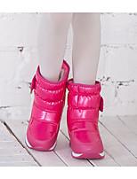 Fille Chaussures Polyuréthane Hiver Bottes de neige Bottes Pour Décontracté Noir Violet Fuchsia