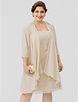 cheap -3/4 Length Sleeves Chiffon Wedding Party / Evening Women's Wrap Coats / Jackets
