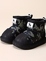 Girls' Shoes Leatherette Winter Snow Boots Loafers & Slip-Ons Booties/Ankle Boots For Casual Blue Green Red