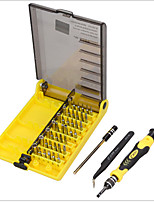 45 em 1 chave de fendas conjunto abertura ferramentas de reparo kit injeção hexadecimal com pinças extensão eixo eletrônica reparação
