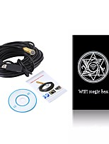 14.5mm lentille wifi endoscope android usb caméra 25 m câble étanche ip67 serpent inspection endoscope pour ios pc sans fil cam