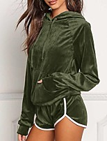 Women's Sports Running Casual Street chic Spring Fall Hoodie Pant Suits