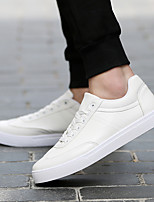 Men's Shoes PU Spring Fall Comfort Sneakers For Casual White