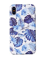 abordables -Coque Pour Apple iPhone X / iPhone 8 Motif Coque Arbre Dur PC pour iPhone X / iPhone 8 Plus / iPhone 8