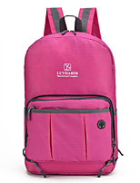 Women Bags All Seasons Nylon Shoulder Bag Zipper for Casual Outdoor Blue Purple Fuchsia