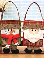 Bolsa de Almacenamiento Otros Muñecos de Nieve Santa Día Festivo Residencial Halloween Navidad FiestaForDecoraciones de vacaciones
