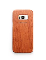 Case For Samsung Galaxy S8 Plus S8 Shockproof Back Cover Word / Phrase Hard Wooden for S8 Plus S8 S7 edge S7 S6 edge plus S6 edge S6 S6