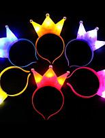 1 stücke licht crown weihnachten led-licht headwear für party stirnband kinder geschenk ramdon farbe