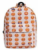 Women Bags Canvas Backpack Zipper for Casual All Seasons White Black Dark Blue