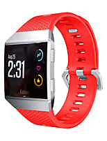 cheap -For Fitbit Ionic Sports TPU Silicone Replacement Wrist Strap for Fitbit Ionic Watchband
