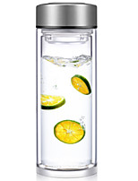 Daily Outdoor Drinkware, 400 Tempered Glass Tea Water Water Bottle