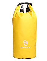 15 L Waterproof Dry Bag Compression Pack Backpacks Cycling Hiking Climbing Camping Triathlon Fast Dry Silicone