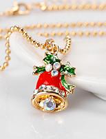 женские подвесные ожерелья сплава восхитительные ювелирные украшения для повседневного рождества