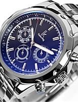 Муж. Модные часы Механические часы С автоподзаводом Нержавеющая сталь Группа Серебристый металл
