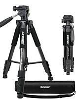 zomei q111 tripé portátil portátil de peso leve com cabeça de panela para câmera dslr dv canon nikon sony black