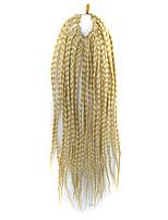 Dread Locks Hair Braid Afro Plaited Havana Twist Synthetic Hair Light Blonde 14