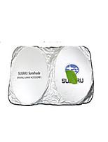 Automotivo Parasóis & Visores Para carros Visores de carro Para Subaru Todos os Modelos Alúminio