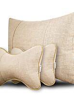 Automotive Headrest & Waist Cushion Kits For universal All years All Models Car Headrests Linen