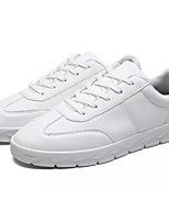 Men's Shoes Cashmere Spring Fall Comfort Sneakers Lace-up For Casual Red Gray Black White