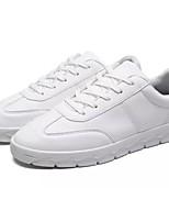 Hombre Zapatos Cachemira Primavera Otoño Confort Zapatillas de deporte Con Cordón Para Casual Blanco Negro Gris Rojo