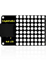 keyestudio easy plug iic i2c 8 * 8 display a matrice dotata di puntini per arduino