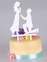 Акрил Свадебные украшения-Свадьба Для вечеринок
