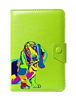 Universal-Hund-PU-Leder Ständer Schutzhülle für 7 Zoll 8 Zoll 9 Zoll 10 Zoll Tablet-PC