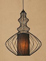 Artistíco Vintage Retro Tradicional/Clássico Regional Lanterna Luzes Pingente Para Sala de Estar Corredor Lojas/ Cafés 110V-220V 220V-240V