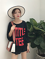 Women's Going out Daily Simple Street chic Summer T-shirt