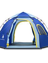 3-4 personnes Tente Tente avec Filet de Protection Tente de Plage Tonnelle Unique Tente de camping Une pièce Tente automatique