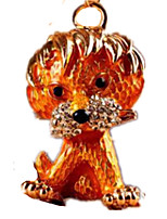 Key Chain Toys Novelty Lion Animal Unisex Pieces