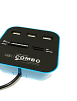 4 Ports USB Hub USB 2.0 With Card Reader(s) Data Hub