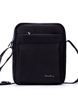 Women Bags Nylon Crossbody Bag Zipper for Casual All Seasons Black