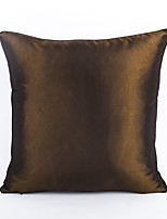 1 Pc Pure Color Imitation Silk Scarf Soft Cushion Home Decoration